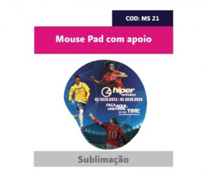 Mouse Pad com apoio COD Ms - 21