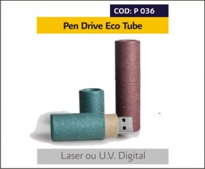 p 036 Pen Drive Eco Tube